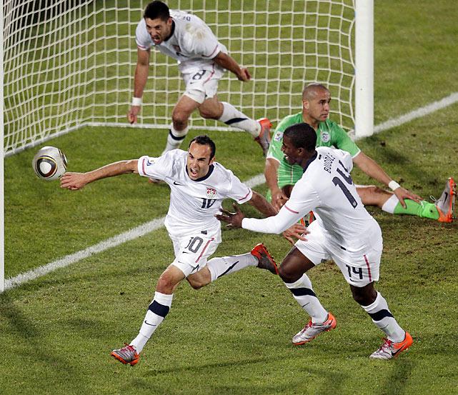 Donovan Scoring against Algeria in World Cup - Visualising Success