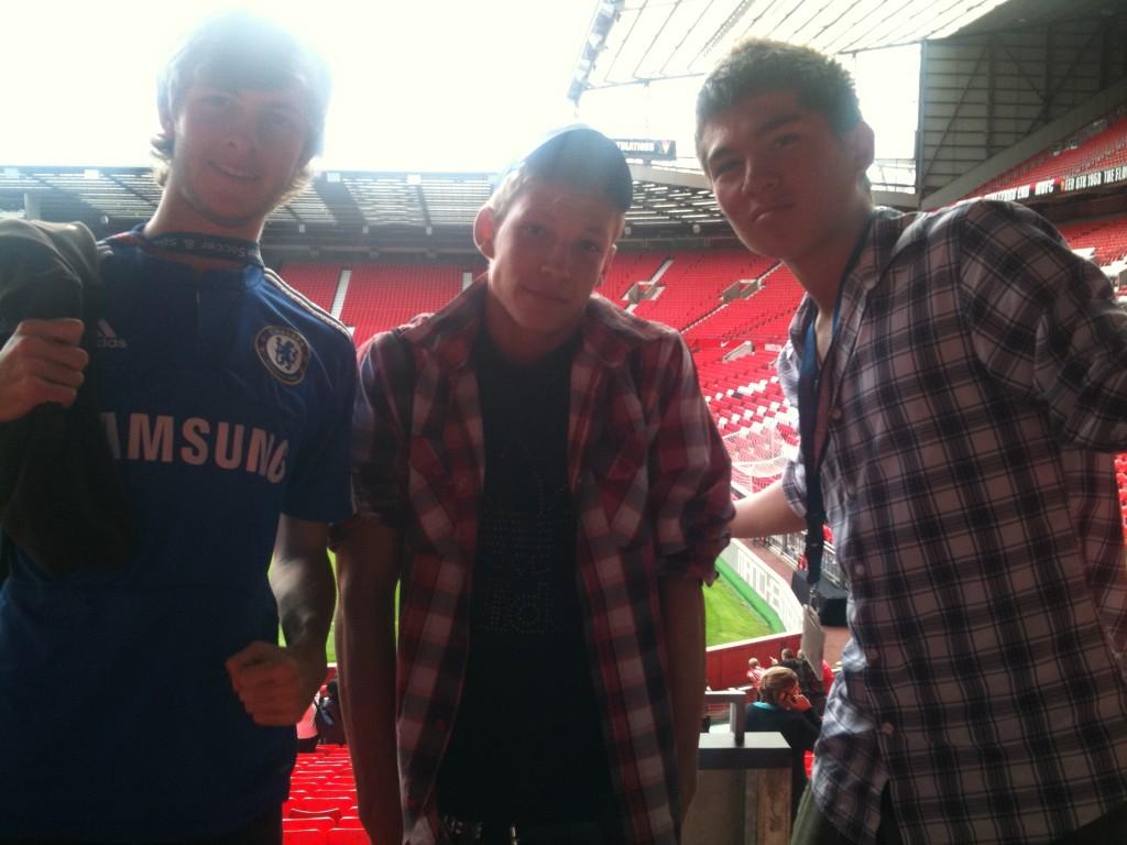 Bobby Charlton Camp at Manchester United Old Trafford