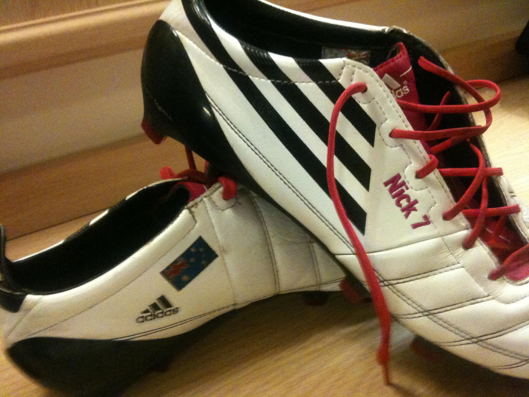 my Adidas Adizeros