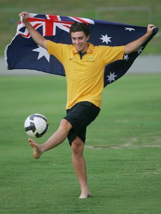 Australian National Team Soccer Player - Tommy Oar