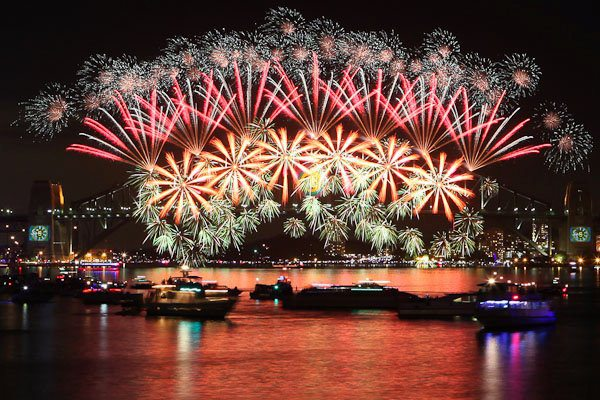 sydney happy new years