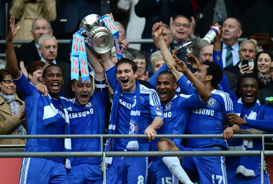 Chelsea win the FA cup once again!!!