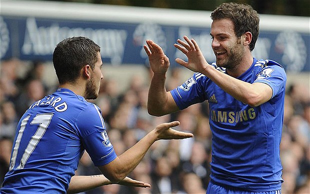 juan mata and hazard