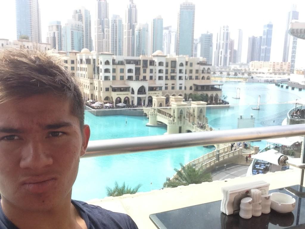 stopover in Dubai!