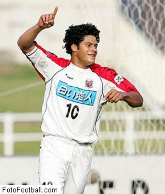 Found out that Hulk played in Japan before eventually signing for FC Porto with a 100 million euro buyout clause! Wow.