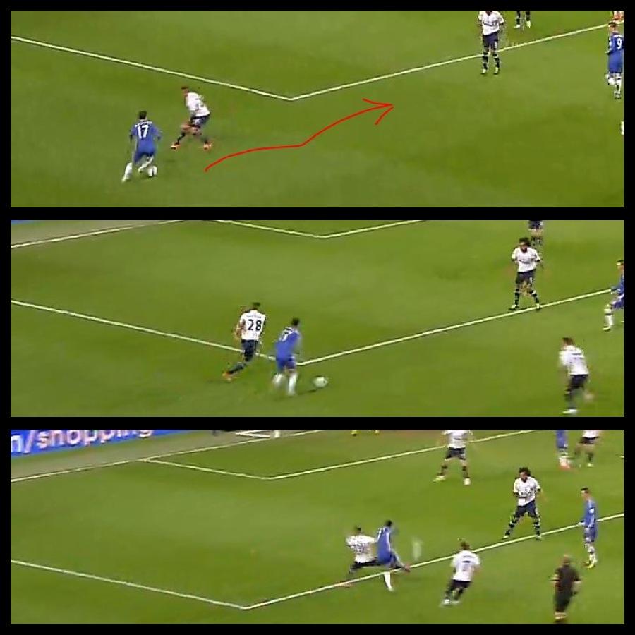 Playing Smart: Hazard vs Tottenham 2